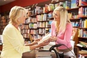 Book store customer service