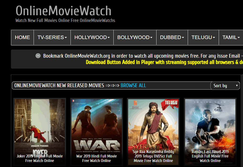 OnlineMovieWatch